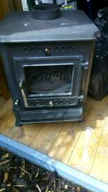 Log burning multi fuel stove