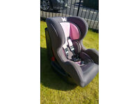 Girls car seat