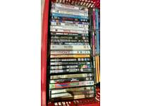 Bundle of DVDs and CDs