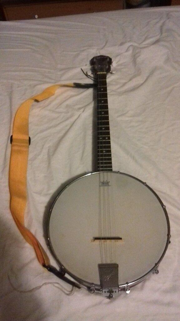 Ozark tenor banjo. (4string banjo)