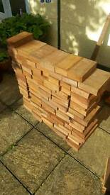 Ekki wood offcuts