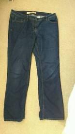 Ladies bootleg jeans