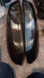Vauxhall corsa back tail lights corsa c