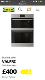 Stainless steel double oven brand new still in package