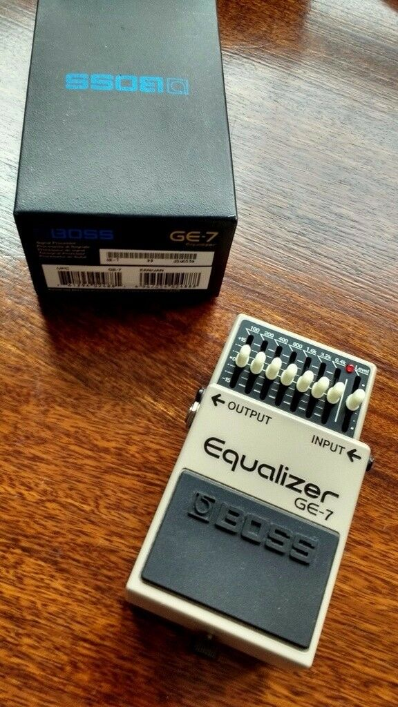 BOSS GE-7 Equalizer guitar pedal