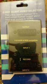 2-Way Scart Video Selectot