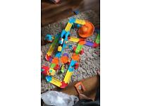 Toot train track & toot toot race launcher