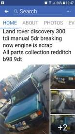 300 tdi 5dr landrover discovery breaking now