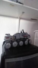 Star Wars clone wars Turbo Tank