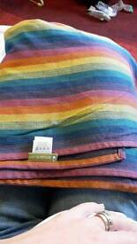 Lenny Lamb woven wrap sling baby carrier - Paradiso size xs, size 4, 3.6m long