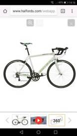 Like new road bike ridden twice