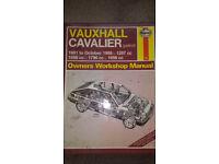 Haynes Workshop Manuals - various £4 each