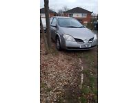 NISSAN PRIMERA 1.8 2004 SPARE OR REPAIR NO MOT