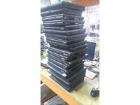 20 HP LAPTOPS WITH COAS AND SPECS ON BOTTOM. MOST DUAL CORE WORK AND BOOT TO BIOS WORK OUT £20 EACH
