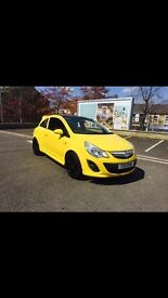 2015 Vauxhall corsa 1.2 ltd edition yellow 28fvsh facelift 15 12 month breakdown warranty mint carpx
