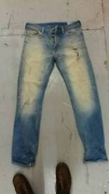 Diesel jeans mens koolter regular slim tapered