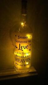 Homemade message bottle
