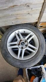 Alloy wheels and tyres 205/60r15