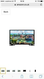 "Samsung 32"" TV - not smart tv"
