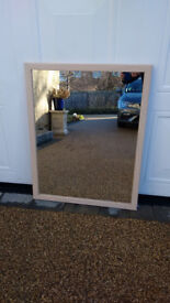 Large mirror 28 inches x 36 inches.