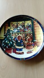 xmas plate xmas plate decorative