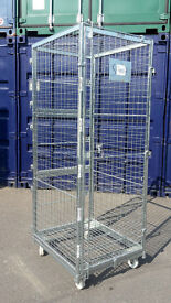 Large security cages/trolleys (van cage, york cage, locking cage) - 2m/6ft high