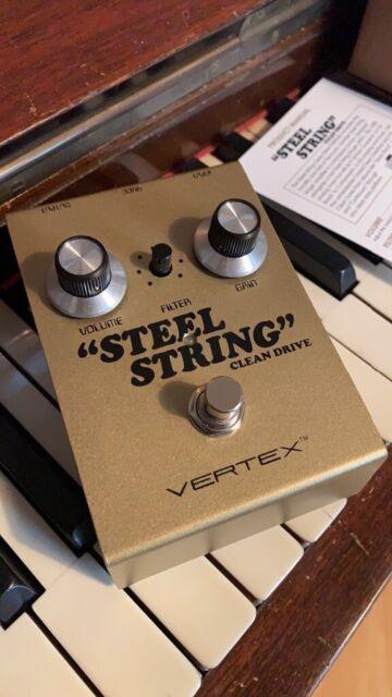 Vertex steel string clean boost pedal   in Acton, London   Gumtree