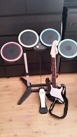 Rock Band -Ps4 once used -brand new