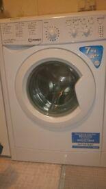 Indesit 7kg washing machine for sale.