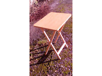 Folding Snack Table - Semi New