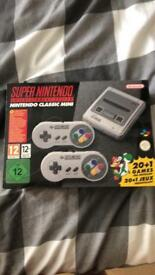 Nintendo Mini SNES (Box not open)