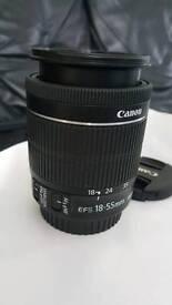 Canon DSLR camera Zoom Lens STM 18-55