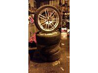 GENUINE Audi a4 Speedline 18 wheels 245/40