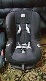 Britax Eclipse Group 1 Car Seat - Black 9£ Only