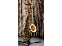Pro Saxophone Selmer Reference54 Tenor. Matt brass finish