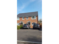 Double Bedroom in a newly built 3-bedroom semi-detached house. Shared with Rolls-Royce employees.