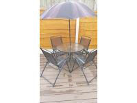 garden patio cafe set