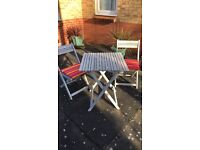 Wilko table and chairs