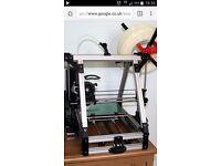 3D printer, parts and filament want