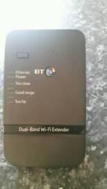 BT dual band Wi-Fi extender