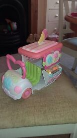 My little pony ice cream van
