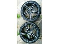 Audi VW 19 5x112 alloy Swap for a gopro