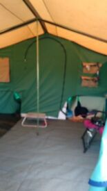 large trailer tent