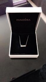 Pandora necklace 'Love'