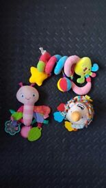 Baby toys £1 each in good condition