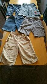 5 PAIRS OF SHORTS AGE 5 TO 6 HARRY POTTER INCL