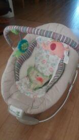 Ingenuity musical baby bouncer