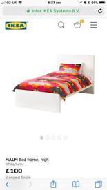 Ikea single beds x 2 malm