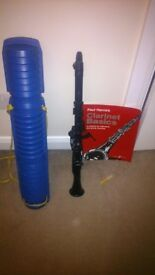 LYONS C CLARINET WITH A BOOK