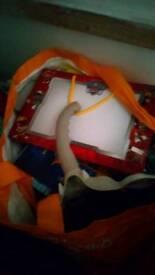 Bag of childrens games.